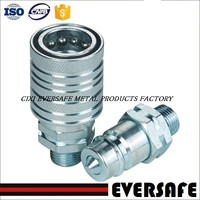 ISO 5675 STANDARD PUSH AND PULL TYPE HYDRAULIC QUICK COUPLING FOR AGRICULTURAL MACHINERY