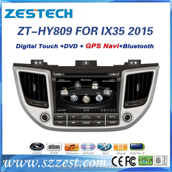 high quality car entertainment system for hyundai tucson 2015 2016 with gps radio dvd player