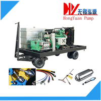 water jet high pressure cleaning machine for sewer