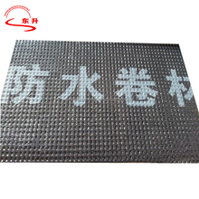2mm/3mm/4mm/5mmSBS/APP Black Aluminium Film Bituminous Waterproof Membrane