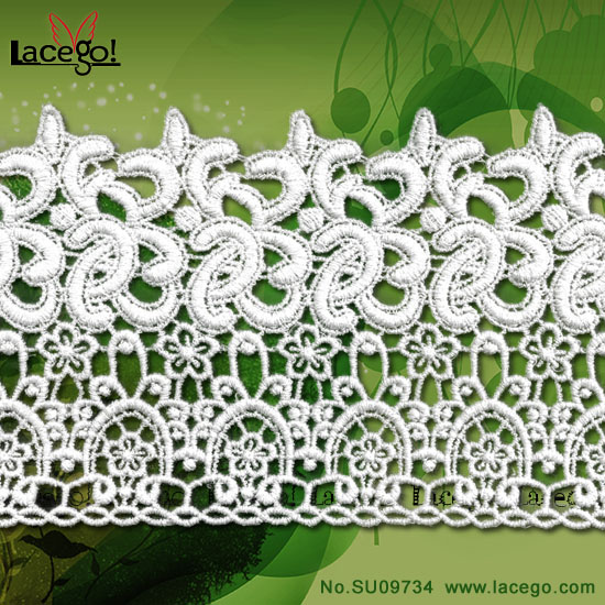 <strong>New</strong> Products Lace Embroidered And Lace Strips For Wedding Dress