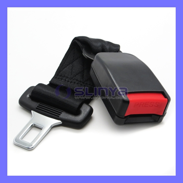 22mm E4 Nylon Metal Tongue Buckle Fit All Cars Seat Belt Extension