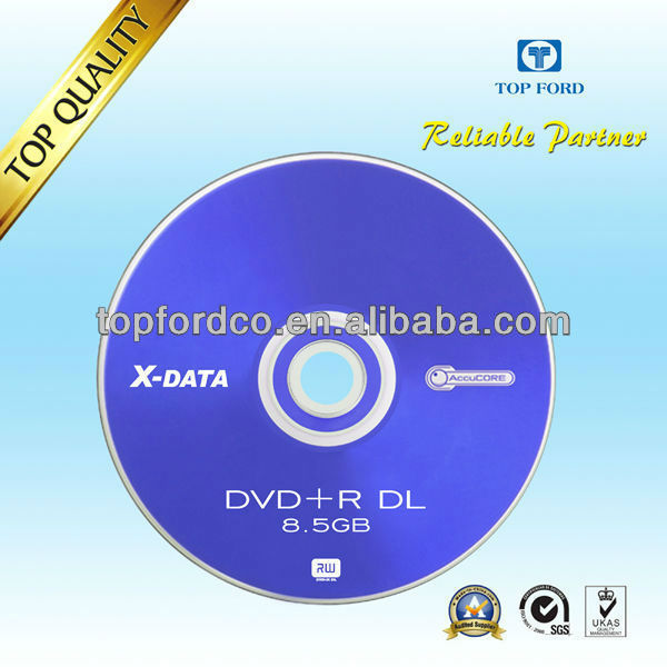 High Compatibility Dual Layer DVD 8.5GB For Burning Game Xbox 360