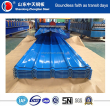 [ Factory ] Prepainted Galvalume / Galvanized Corrugated / Trapezoidal Steel Roofing Sheets / Plates Manufacturer Price