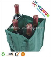 2014 new design pattern for fabric wine bag