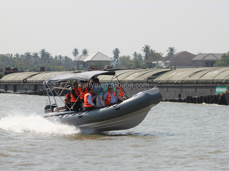 Liya 2-10m inflatable rescue boat for sale military inflatable boat with outboard motor