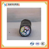 Al/PVC/STA/PVC Electrical power cable STA Armoured aluminum conductor Cable VLV22transparent electric wire