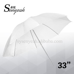 "33"" Photo Soft translucent umbrella Diffuser white umbrella Studio Flash reflective umbrella"