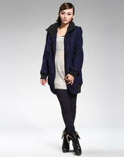 Young ladies latest design long sleeve coat hot sales 2013 spring
