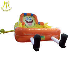 Hansel park amusement and inflatable party ball pool for children with inflatable equipment for entertainment