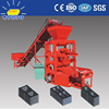 QTJ4-26 cement hollow block machine for small industry concrete block paving stone making machine