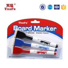 Stationery and office supplies chalk board marker brush