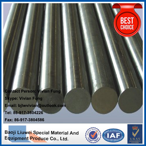 supply hot sale high quality astm b348 annealed titanium bars made in china