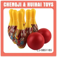 indoor and outdoor sport toys game plastic bowling pins bowling balls for sale