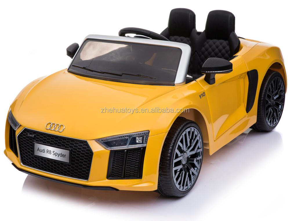 AUDI R8 two seat kids ride on toys electric ride on car 12v 2017