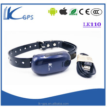 LK110 pet gps tracking logger gps chip for pets with IOS app gps collar