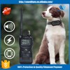 Top E Shock Stop Two Dogs Bark Training Collar Remote waterproof Training Shock Locking Dog Collars Beeper