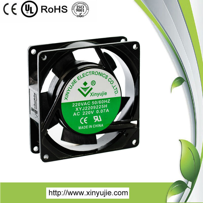 Xinyujie popular portable exhaust fan/Good nail salon exhaust fans 92mm /hot air cooling fan