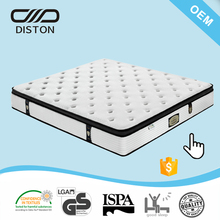 high quality single spring memory foam bed mattress for sleeping