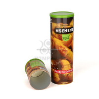Hot Sale Food Grade Empty Coffee Paper Can