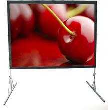 120inch portable pop up rear projection screen