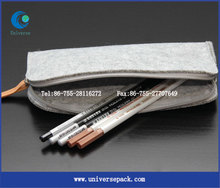 Cosmetic Bag For Eyebrow Pencil Felt Pouch Custom Hot Selling Products