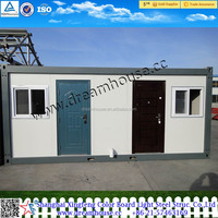 Prefab flat pack container portacabin shop/container house/home/office