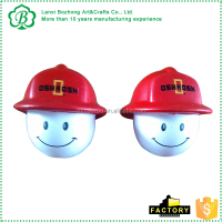 Custom bulk pu smile face anti stress balls