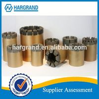 China manufacturer high quality PQ3 impregnated diamond core drill bits