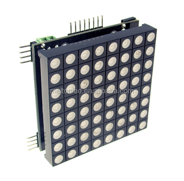 Good quality ROHS Approved LED Dot Matrix <strong>1</strong>.9mm 3mm 5mm 8x8 led dot matrix display