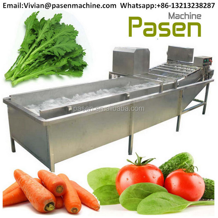 New Designed Fruit and Vegetable Washer Machine with ozone Sterilizing, Automatic Air Bubble Fruit and Vegetable Cleaner