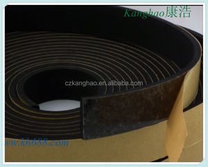 FOAM Temperature Resistance EPDM/PVC/silicon Rubber Foam Seal