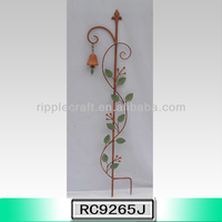 Nice Metal Flower Garden Ground Stake