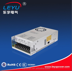 CE RoHS approved 24 volts switch mode power supply s-350 24v led power supply