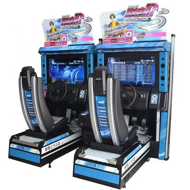 High quality arcade games car race game,initial <strong>d</strong> arcade machine,arcade games machines coin operated