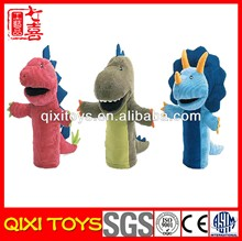 china plush toy manufacturer dinosaur hand puppet