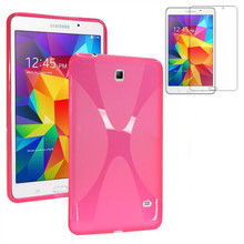 Crystal clear soft silicone cover case for samsung galaxy tablet 4 7.0 T230