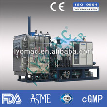 FDA/cGMP complianced freeze drying machine