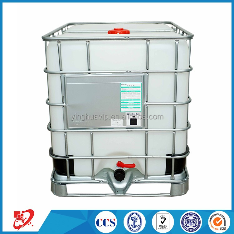 UN certification chemical hdpe ibc container