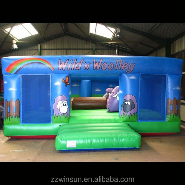 Commercial Inflatable Sheep Pen bouncing castle,bouncy castle,jumping castle