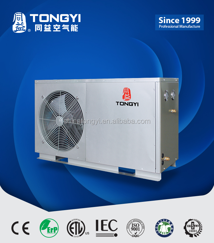 Tongyi High Efficiency Air To Water DC inverter Heat Pump
