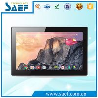 Manufacture 15.6 inch android 4.4 tablet wall mount screen support Bluetooth/Ethernet/wifi/3G