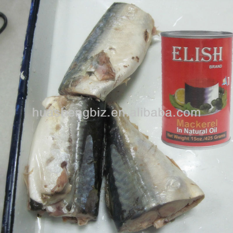 425g Jack Mackerel Can In Oil