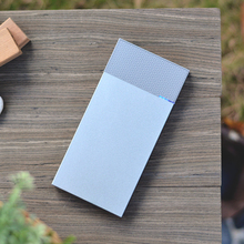 2016 new Quick Charger dual input ouput portable power bank 10000mah mobile powerbank Aluminum cases with 2 USB port