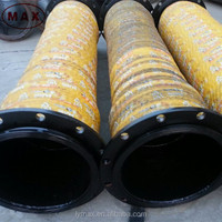 Reinforced High Pressure Flexible Rubber Hydraulic Hose Pipe 6m for Suction Tube