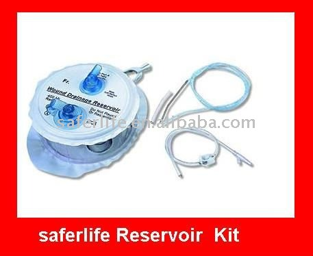 Medical device Three-Spring Reservoir Wound Suction Drainage reservoir Kits