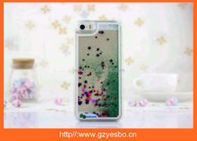 New Colorful Fashion Transparent Crystal hard Liquid 3D swimming fish phone case for iphone 4 4S 5 5S