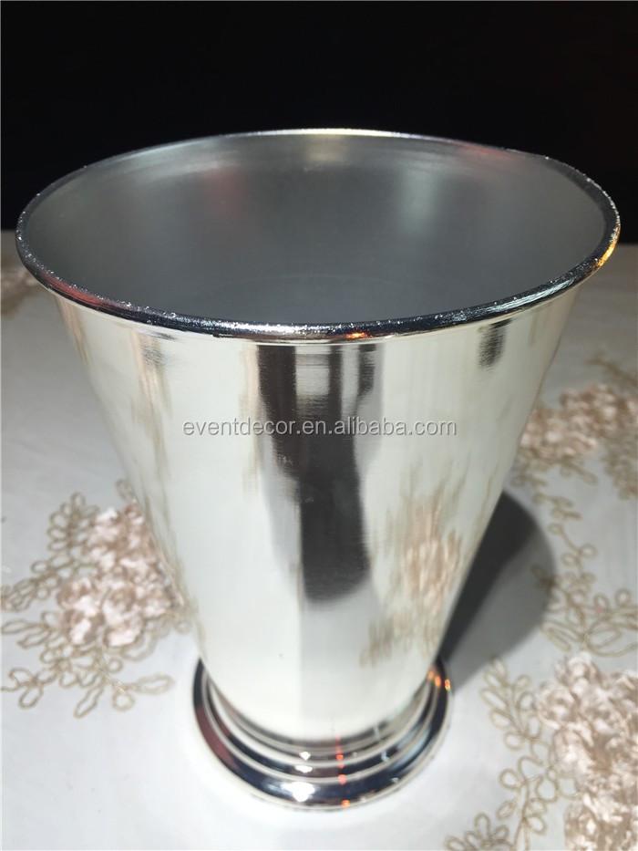 Wedding metal round flower stand centerpiece small ice