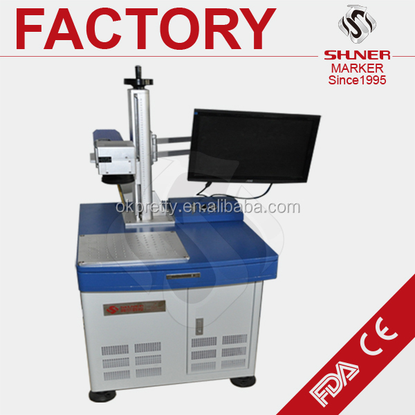 IPG fiber laser marking machine for sale QR CODE metal engraved