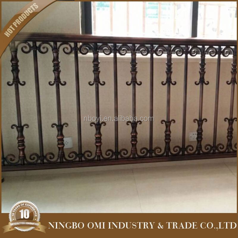 wrought iron balcony railing/handrail/balustrade/deck railing lowes